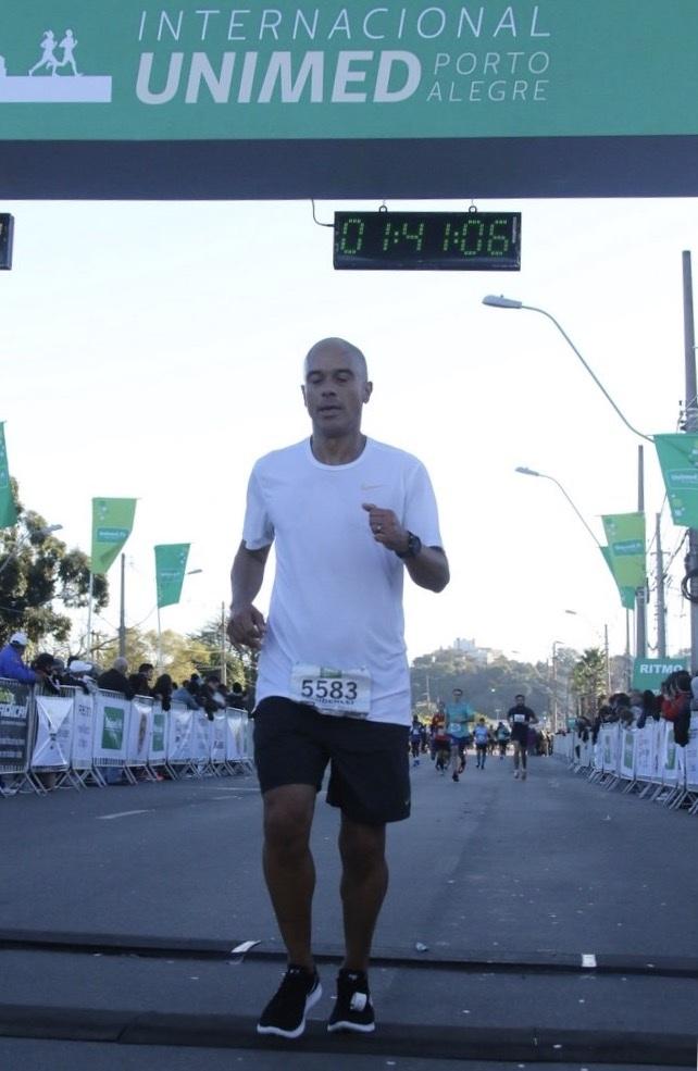Chegada dos 21 km de Porto Alegre - 11 de junho de 2017