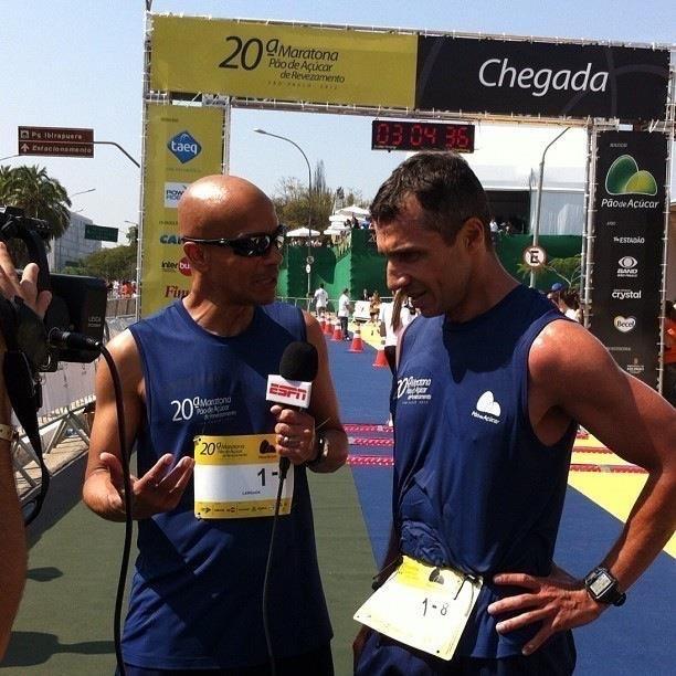 Foto crédito: ESPN Brasil - Programa Vamos Correr 2012